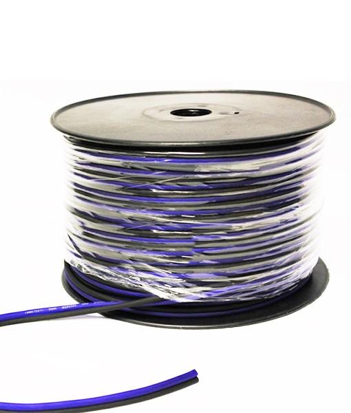 sky high car audio 8 awg cca speaker cable bladeice shca16awg