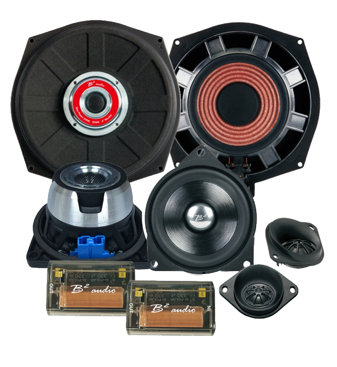 B2 Audio BMW 3 Way speaker upgrade BladeICE
