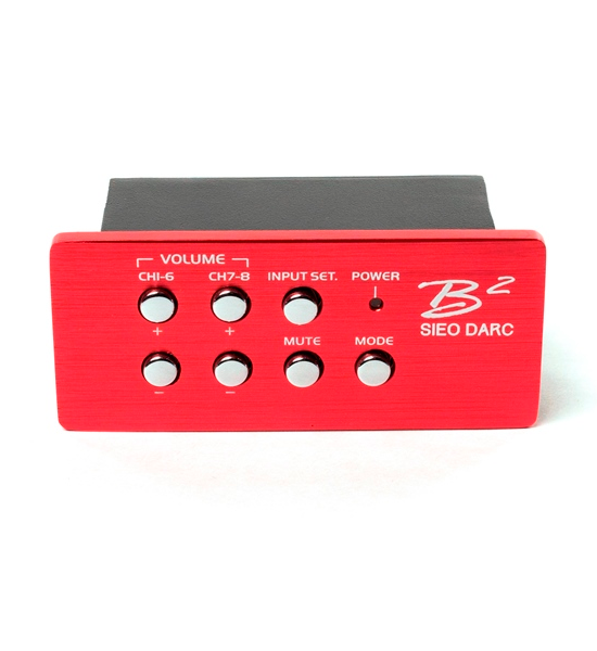 B2 Audio SIEO (Six In Eight Out) DSP